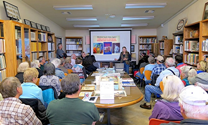 Lecture in the Begole Archaeology Library
